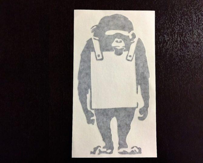 Banksy Monkey2