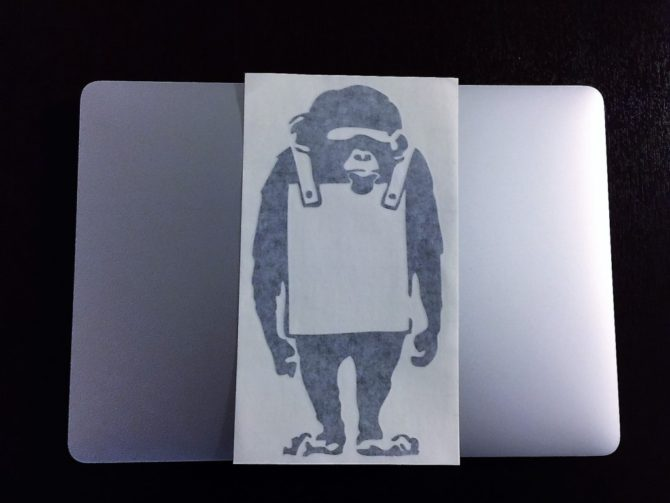 Banksy Monkey4