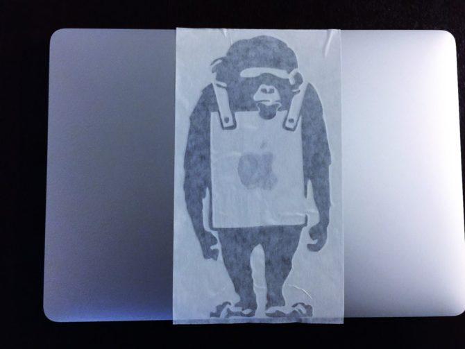 Banksy Monkey6