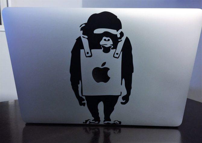 Banksy Monkey9