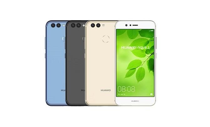 UQモバイル 4色のHUAWEI nova2