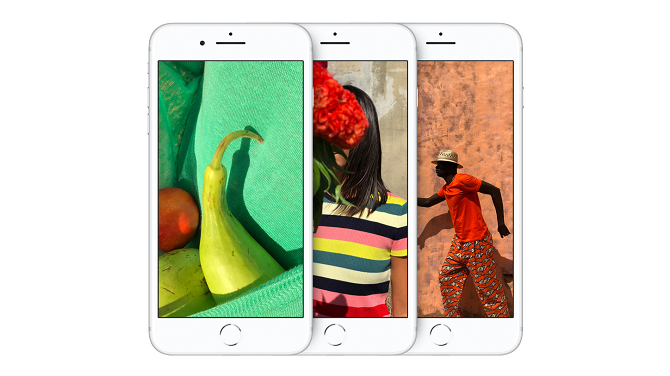 iPhone 8はTrue Tone機能を搭載している