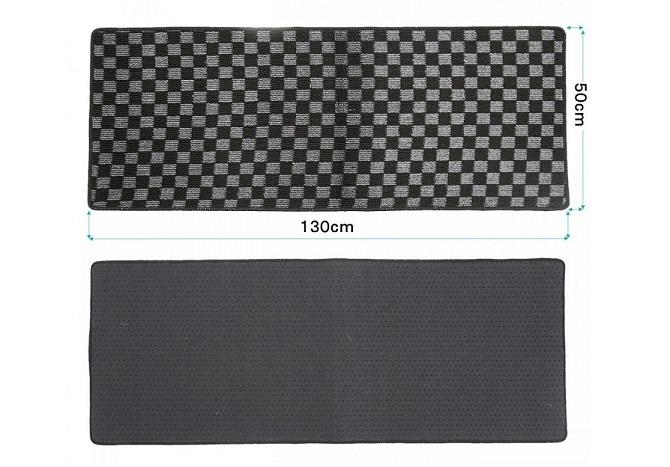 エム・アール企画の汎用セカンドラグマットのサイズがわかる写真