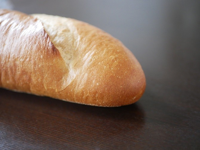 フランスパンのアップ