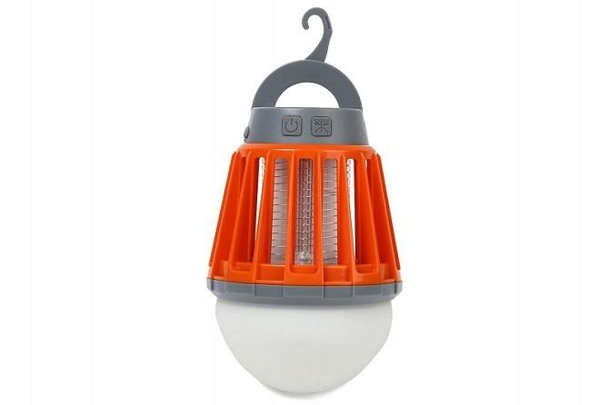 オレンジ色のMtSUMI(マウントスミ)LEDモスキートランタン