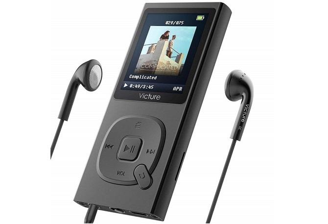 黒色のVicture MP3プレーヤー