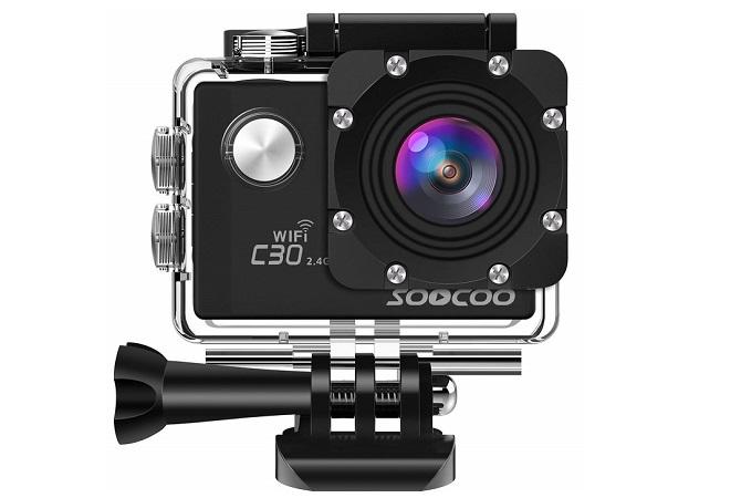 SOOCOO C30Rアクションカメラ本体