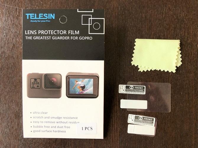 TELESIN保護フィルム内容物