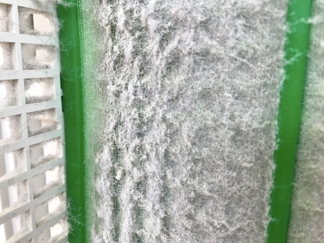 加湿器の汚れ