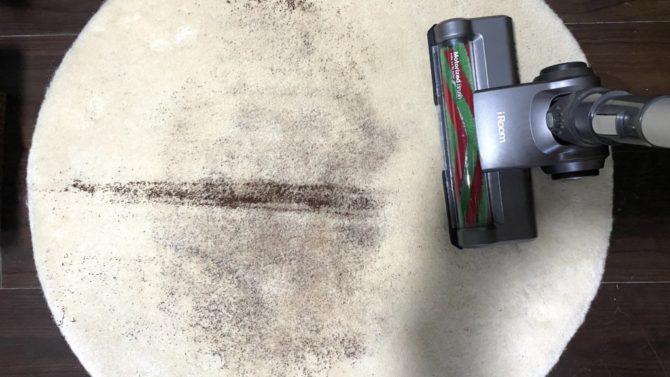 刷り込んだコーヒー粉吸うD10